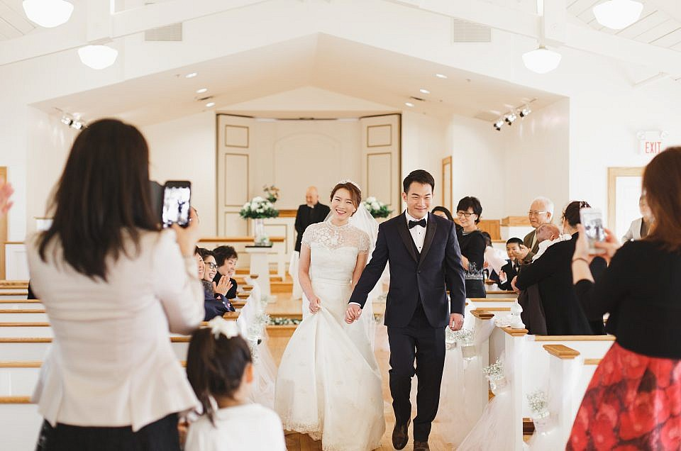Sunny Glenview Wedding